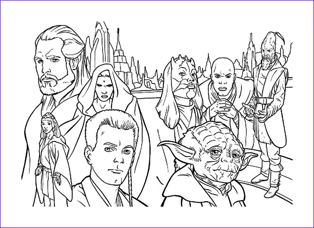 Star Wars Characters Coloring Pages New Stock Star Wars Characters Coloring Pages Gallery