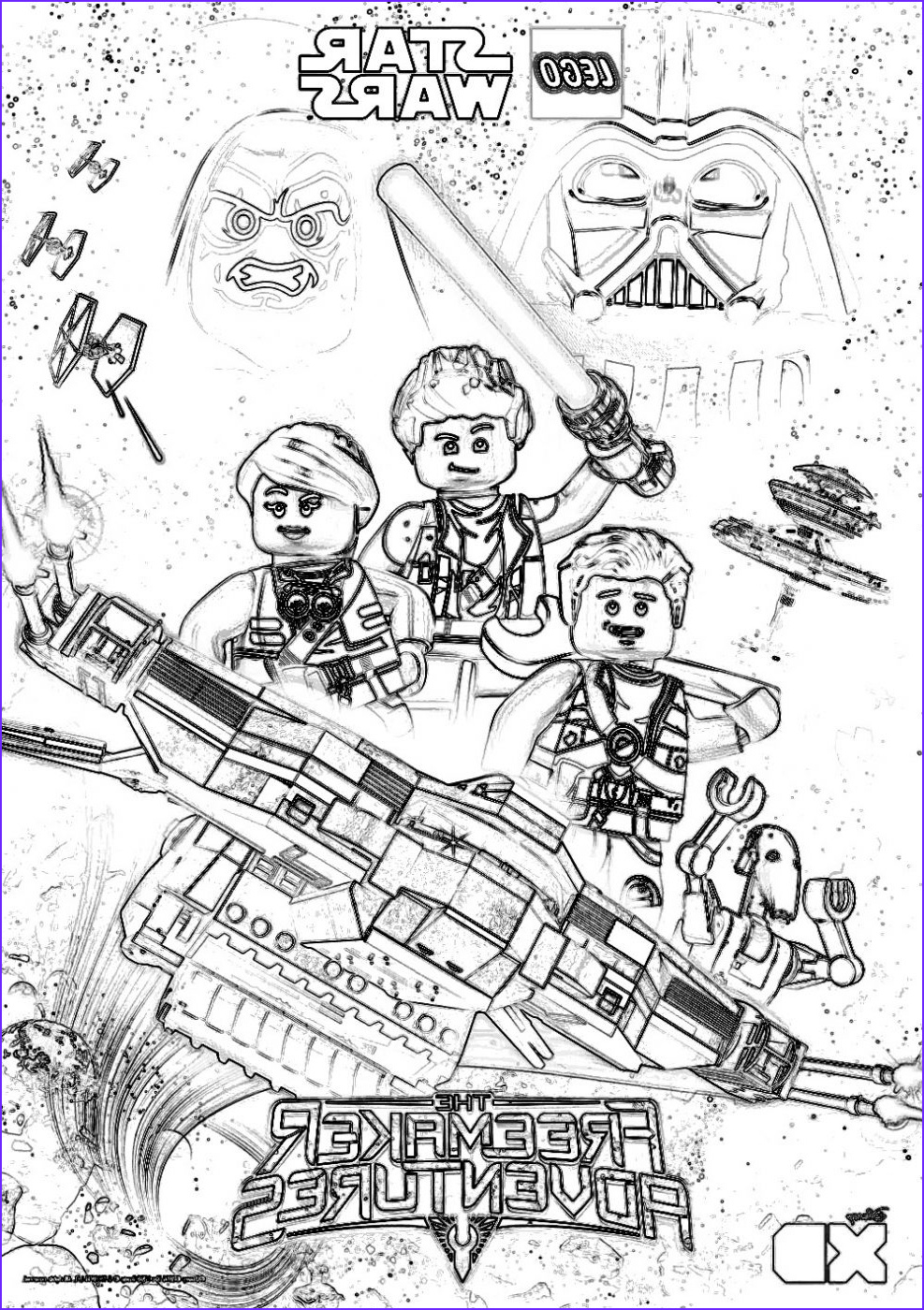 Star Wars Coloring Pages Beautiful Photos Lego Star Wars Coloring Pages the Freemaker Adventures