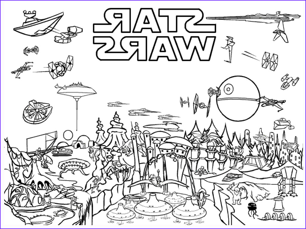 Star Wars Coloring Pages Elegant Images Free Printable Star Wars Coloring Pages Free Printable
