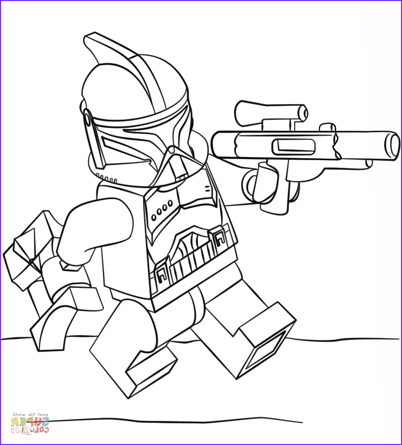 Star Wars Coloring Pages Free Awesome Photos Lego Clone Trooper Super Coloring
