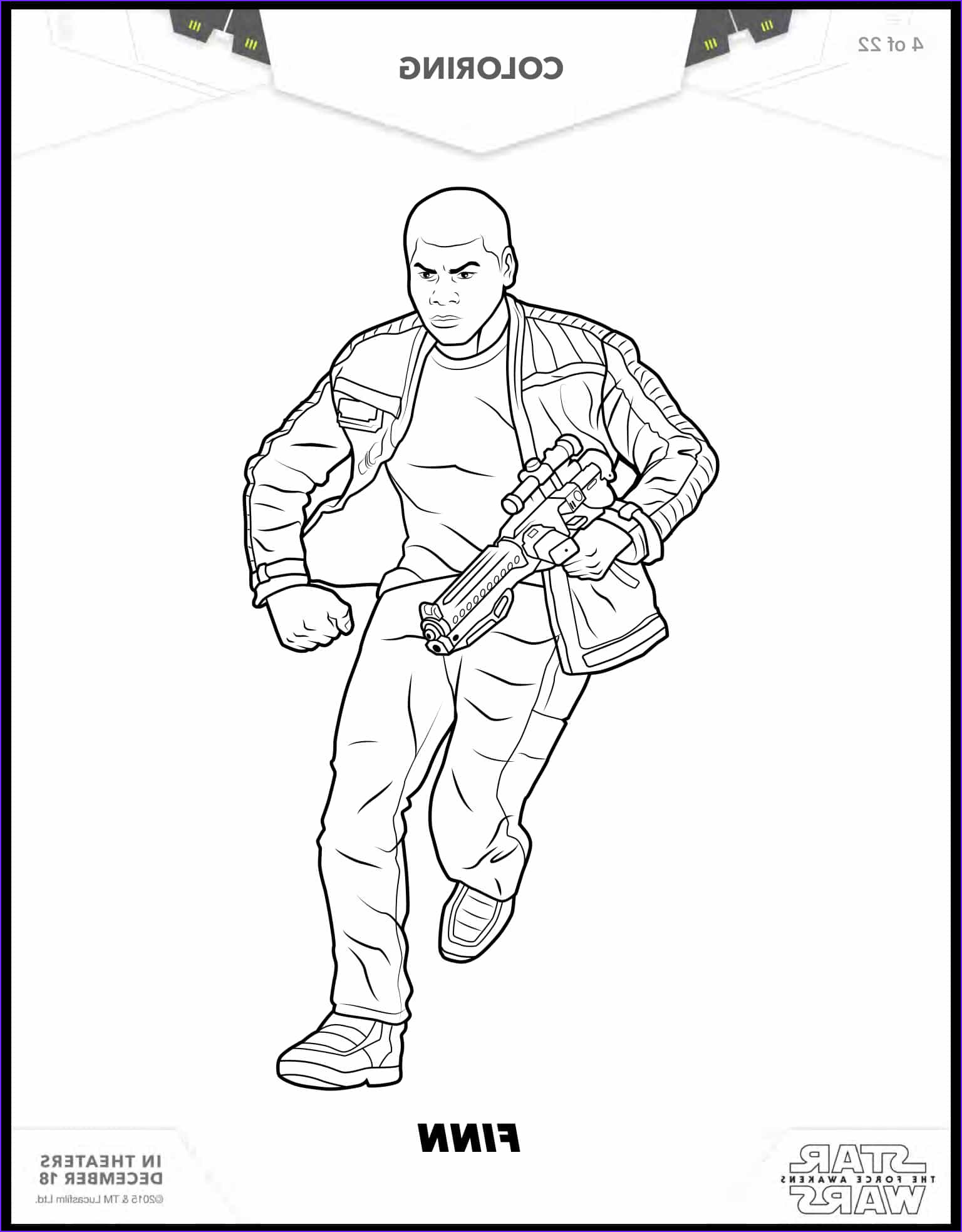 Star Wars Coloring Pages Inspirational Photos 8 Free Star Wars the force Awakens Coloring Sheets