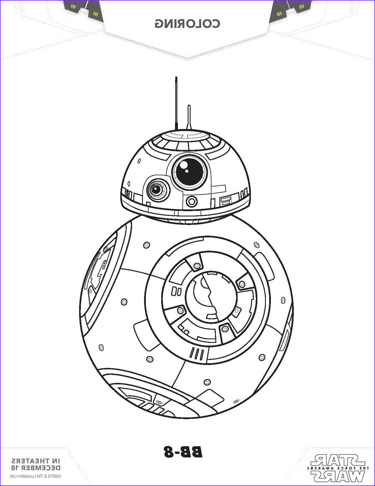 Star Wars Coloring Pages Luxury Collection Star Wars Coloring Pages the force Awakens Coloring Pages