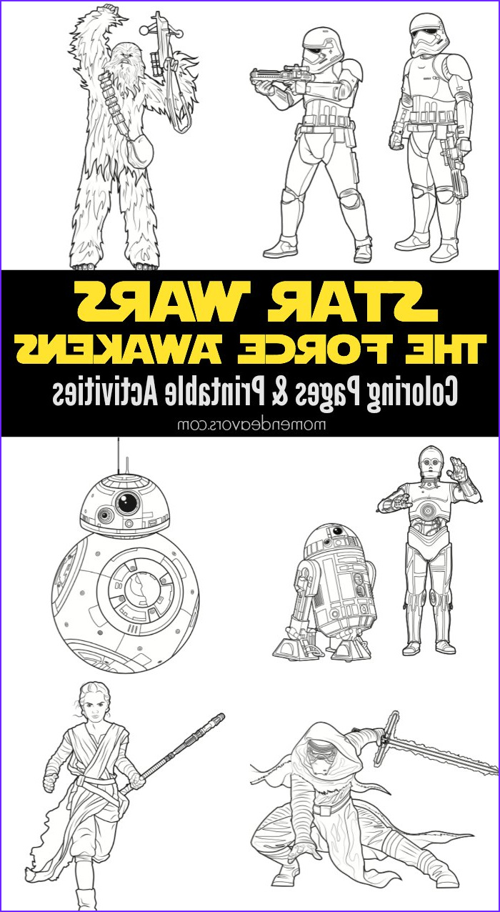 Star Wars Coloring Pages New Photos Star Wars the force Awakens Printable Activities