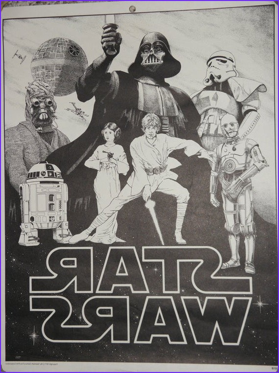 Star Wars Coloring Posters New Photos Star Wars Coloring Poster 1977 by Stefanikland On Etsy