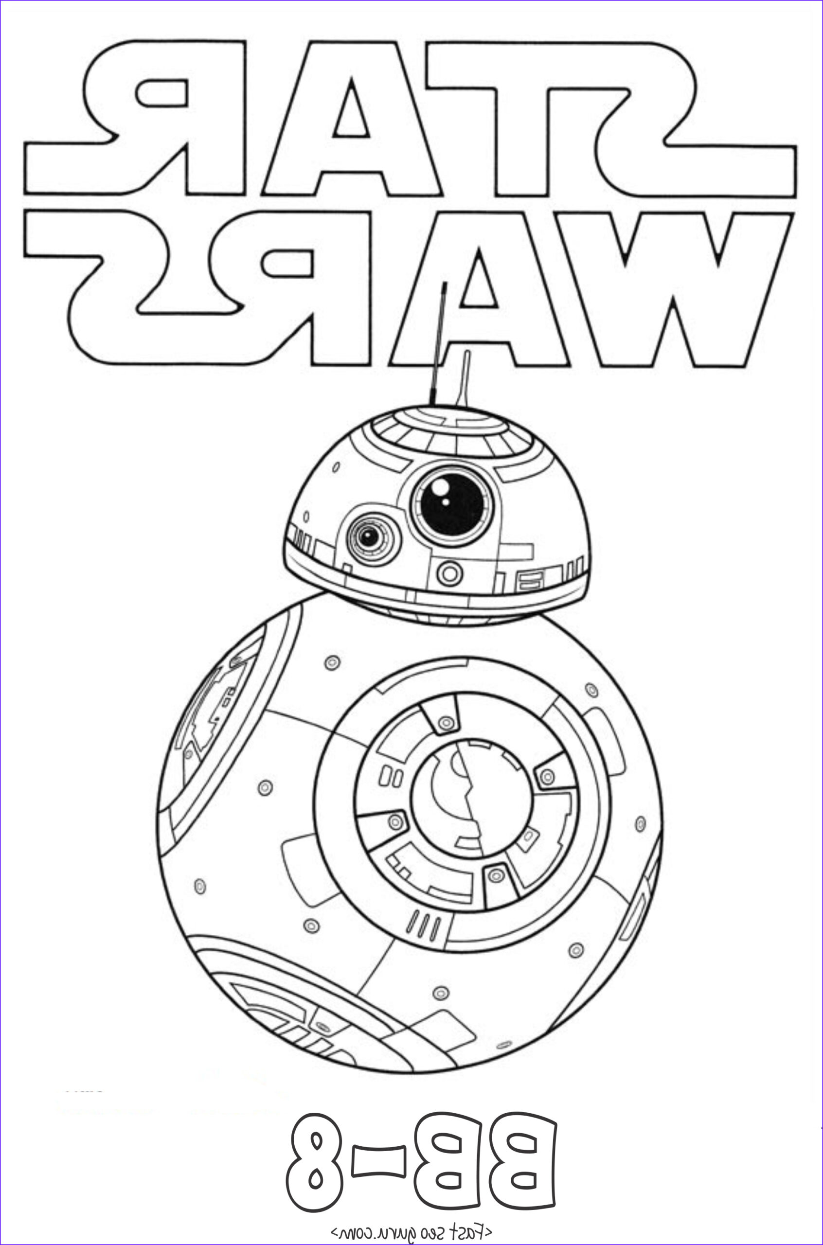 Star Wars the force Awakens Coloring Pages Cool Gallery Star Wars the force Awakens Bb 8 Coloring Pages