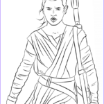 Star Wars The Force Awakens Coloring Pages Elegant Image Rey From The Force Awakens Coloring Page