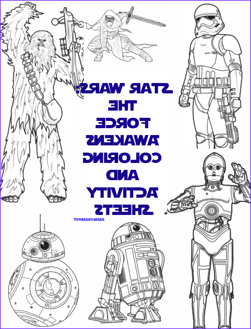 Star Wars the force Awakens Coloring Pages Inspirational Stock Star Wars the force Awakens Coloring & Activity Sheets