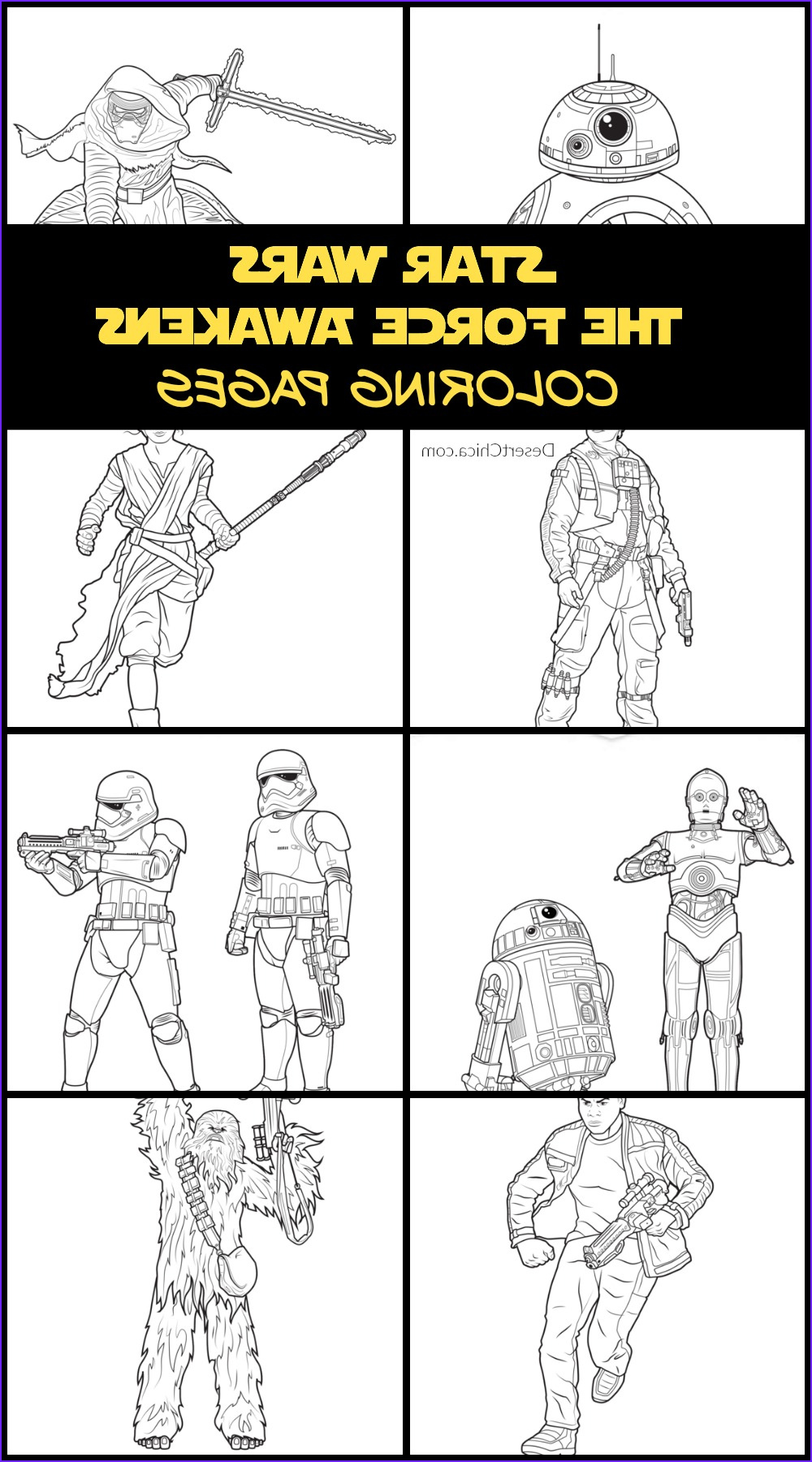 Star Wars the force Awakens Coloring Pages New Gallery Star Wars the force Awakens Coloring Pages and Activities