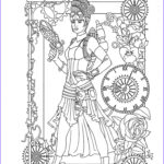 Steampunk Coloring Book Luxury Photography 355 Best Steampunk Coloring Pages For Adults Images On