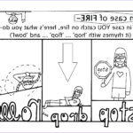 Stop Drop And Roll Coloring Page Awesome Photos Fire Safety Color Pages