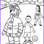 Stop Drop And Roll Coloring Page Luxury Image Sparky