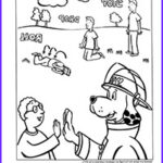 Stop Drop And Roll Coloring Page New Photos Fun Pages