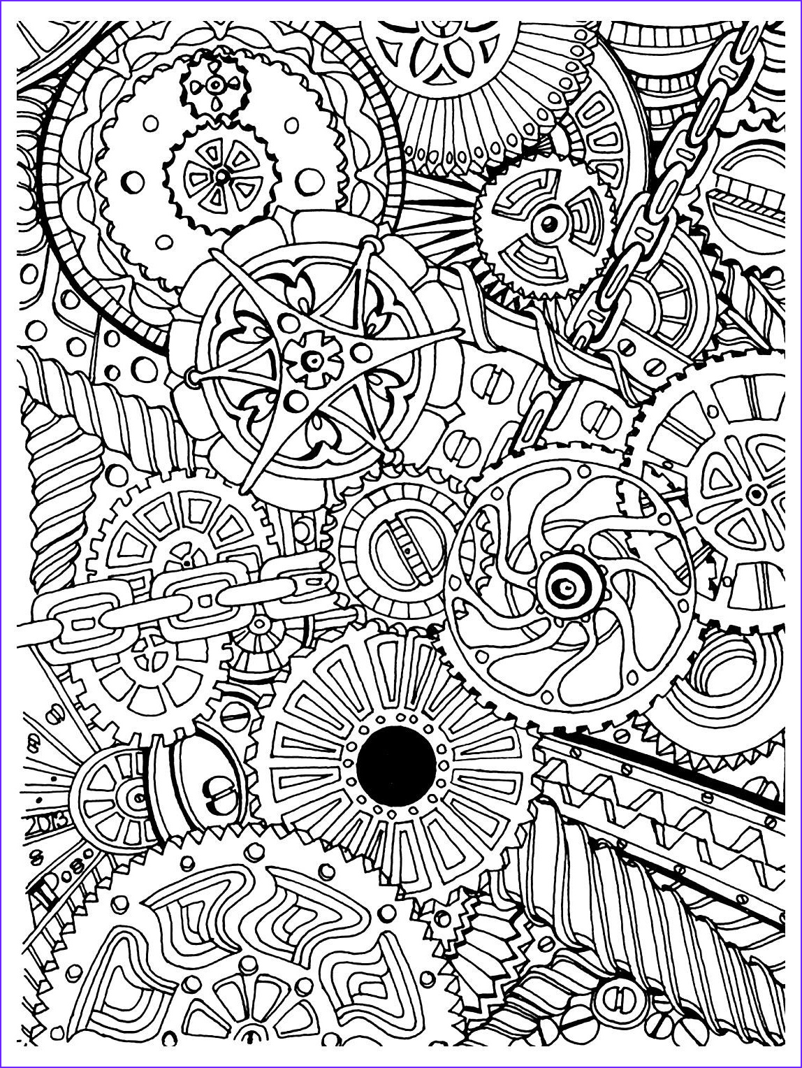 Stress Free Coloring Book Cool Gallery To Print This Free Coloring Page Coloring Adult Zen Anti