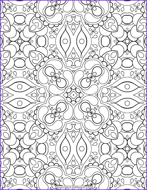 Stress Relieving Coloring Pages Inspirational Collection these Printable Mandala and Abstract Coloring Pages