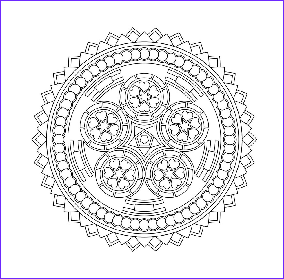 Stress Relieving Coloring Pages Unique Images these Printable Mandala and Abstract Coloring Pages