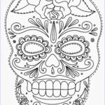 Sugar Skull Coloring Pages Beautiful Photos Tattoos Book 2510 Free Printable Tattoo Stencils Skulls