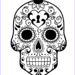 Sugar Skull Coloring Pages Beautiful Stock Print & Download Sugar Skull Coloring Pages To Have