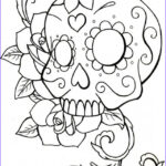 Sugar Skull Coloring Pages Best Of Stock Sugar Skull Coloring Pages Best Coloring Pages For Kids