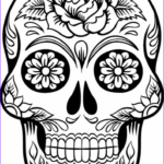 Sugar Skull Coloring Pages Inspirational Photos Print & Download Sugar Skull Coloring Pages To Have