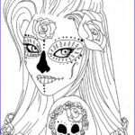 Sugar Skull Coloring Pages Inspirational Photos Sugar Skull Coloring Pages