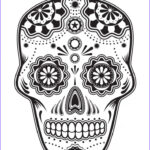 Sugar Skull Coloring Pages Luxury Gallery 20 Best Images About Zentangleulls On Pinterest