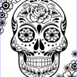 Sugar Skull Coloring Pages Unique Stock Free Printable Day Of The Dead Coloring Pages Best
