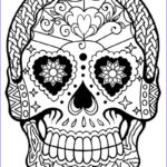 Sugar Skull Girl Coloring Pages Beautiful Photos Printable Skulls Coloring Pages For Kids