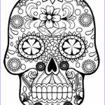 Sugar Skull Girl Coloring Pages Cool Photos Printable Skulls Coloring Pages For Kids