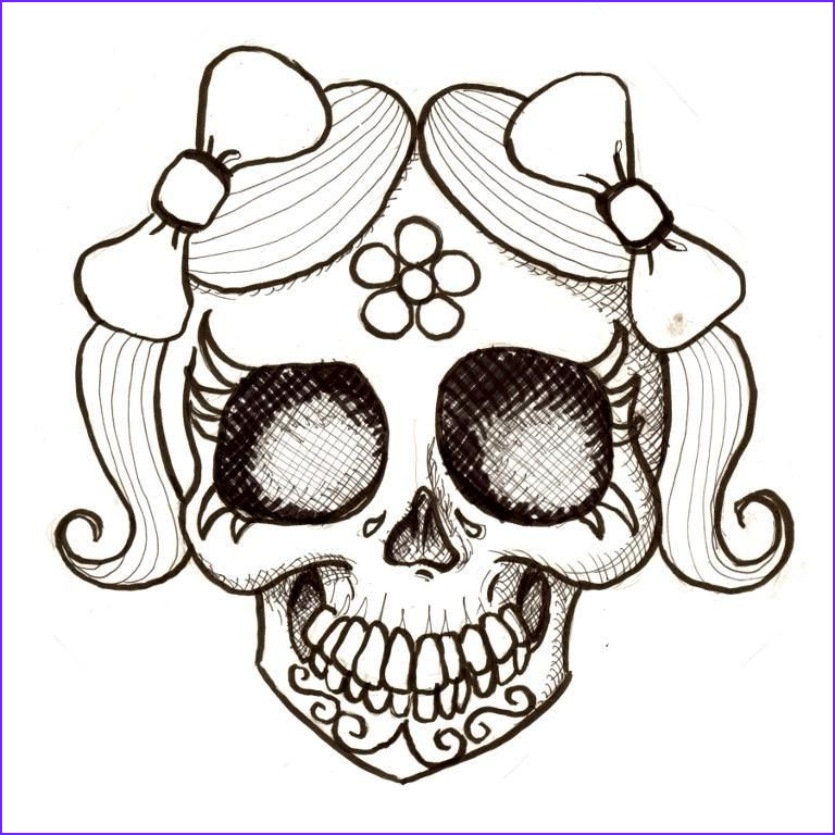 Sugar Skull Girl Coloring Pages Luxury Photos Day the Dead Coloring