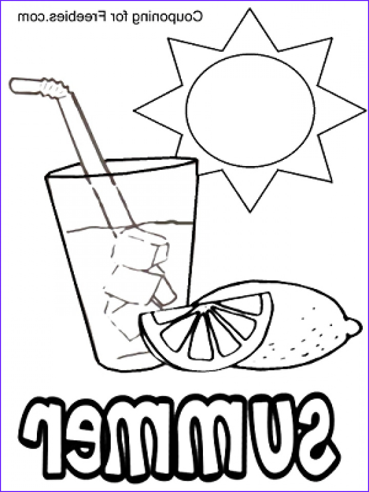 online summer coloring pages