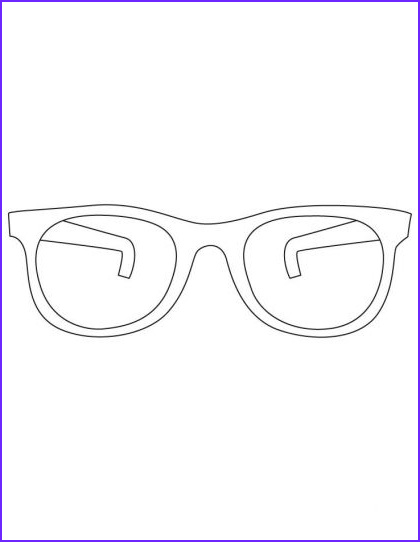 Sun Glasses Coloring Page Elegant Photos Sunglasses Coloring Pages