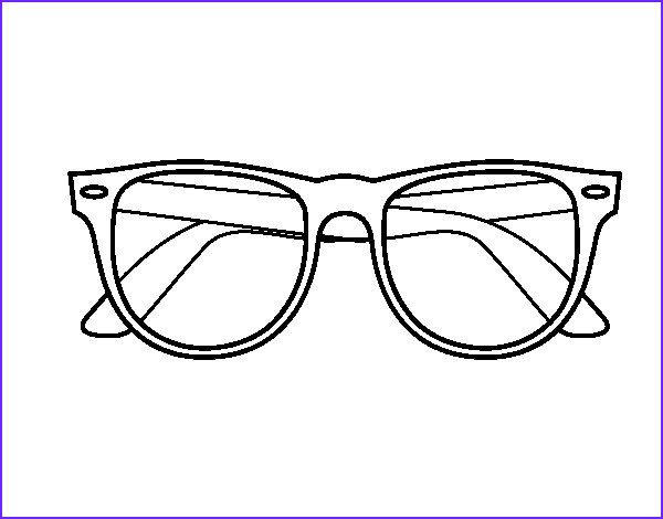 Sun Glasses Coloring Page Inspirational Collection Sunglasses Coloring Page Coloringcrew