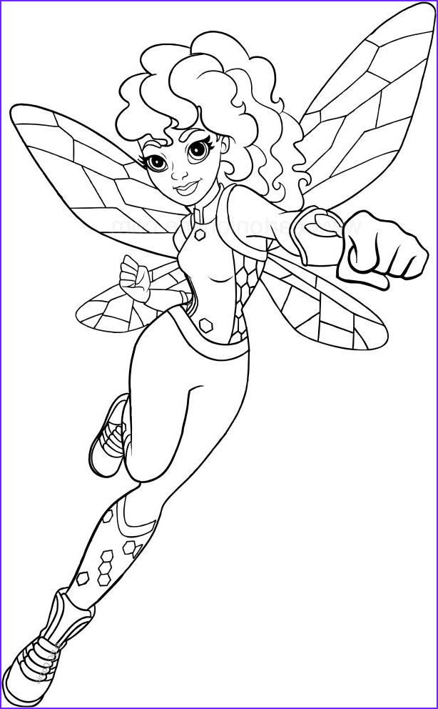 Superhero Coloring Pages Inspirational Photography Bumblebee Dc Superhero Girls Coloring Page to Print
