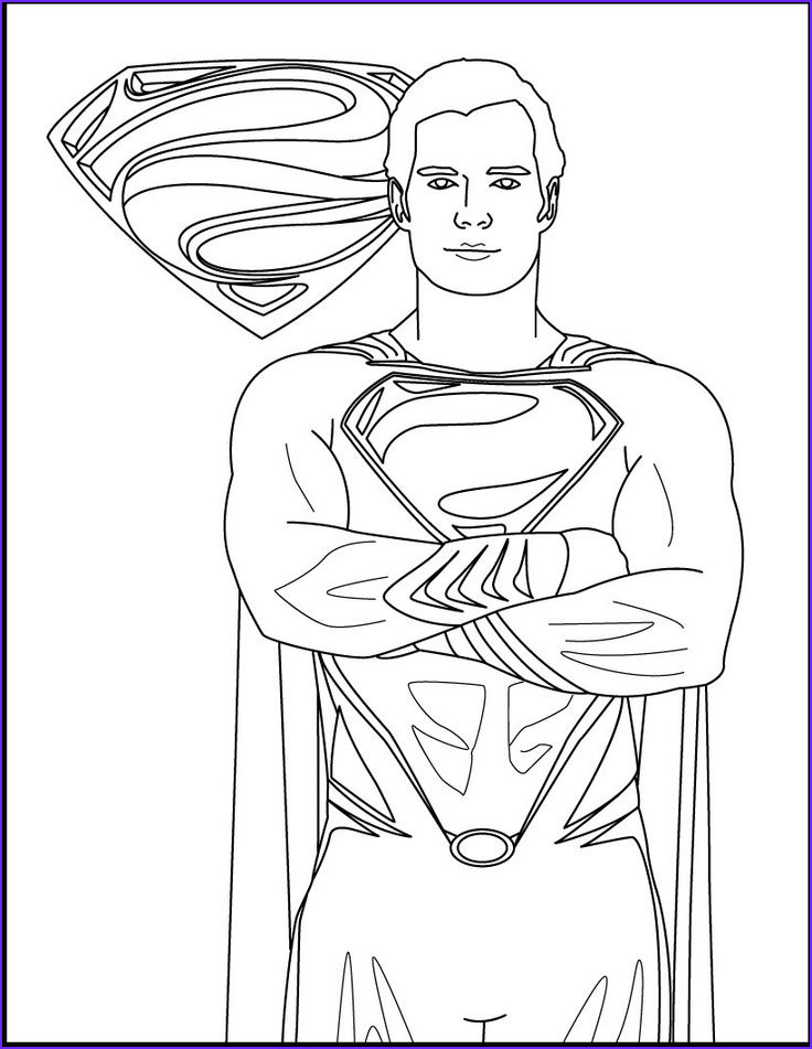 Superman Coloring Book Awesome Gallery 30 Best Superman Images On Pinterest
