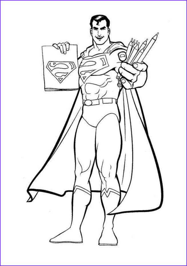 Superman Coloring Book Beautiful Photography Free Printable Superman Coloring Pages For Kids