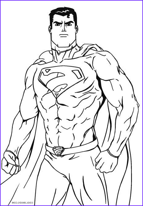 Superman Coloring Book Cool Photos Free Printable Superman Coloring Pages For Kids