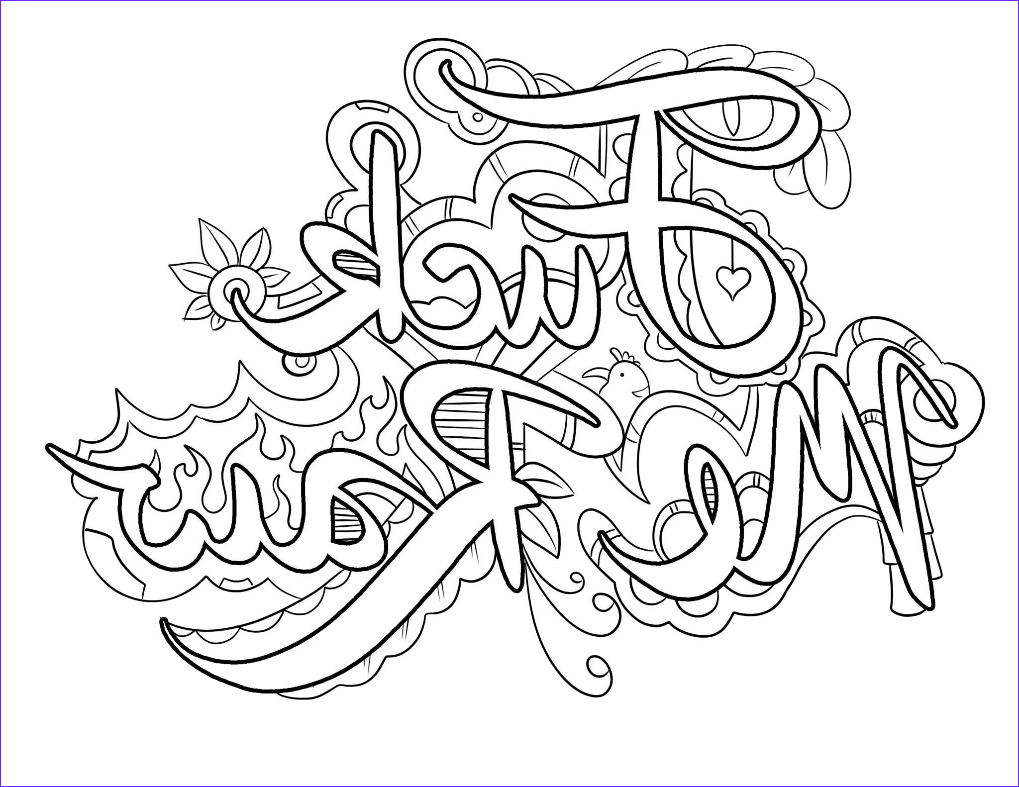 Swear Word Coloring Pages Printable Beautiful Photos Pin By Angie Harris On Printables