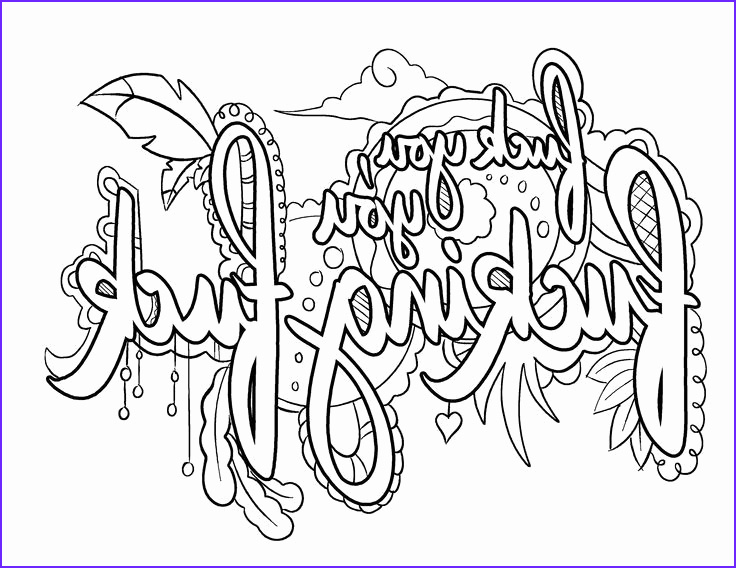 swear word coloring pages clipart
