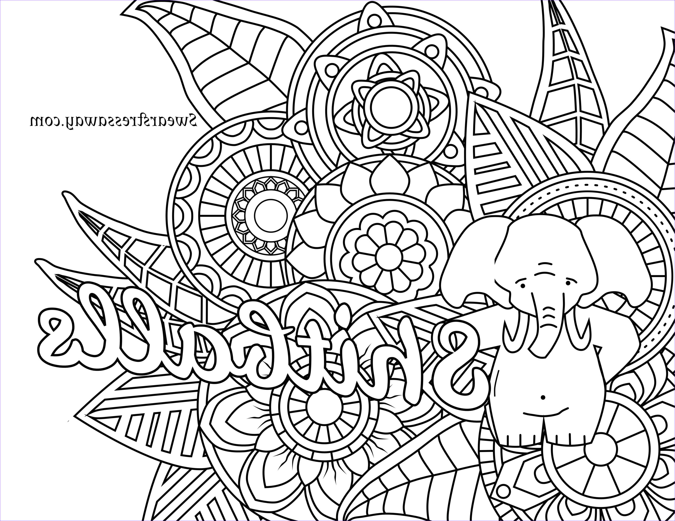 free printable adult swear word coloring pages