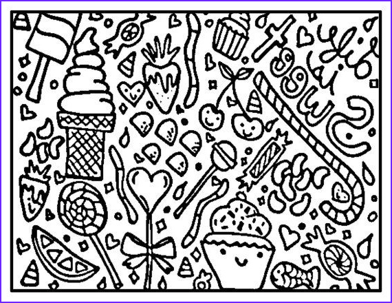 Sweets Coloring Pages Beautiful Photos Printable Quotes to Color Emily Quotesgram