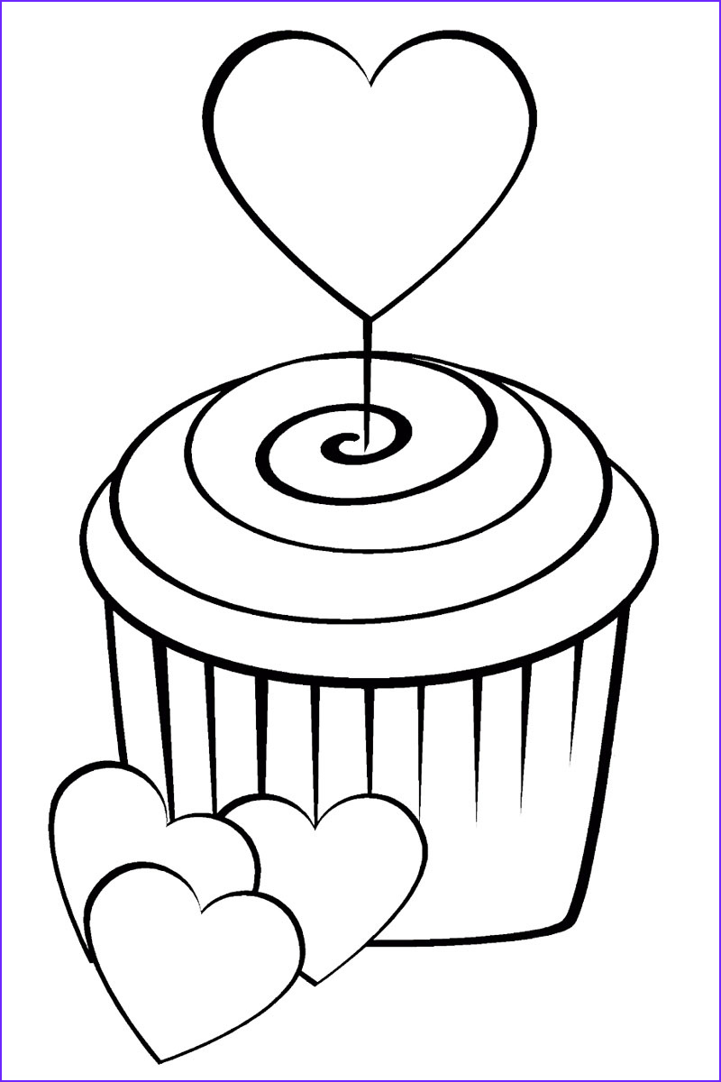 Sweets Coloring Pages Best Of Photography Sweets Coloring Pages for Childrens Printable for Free