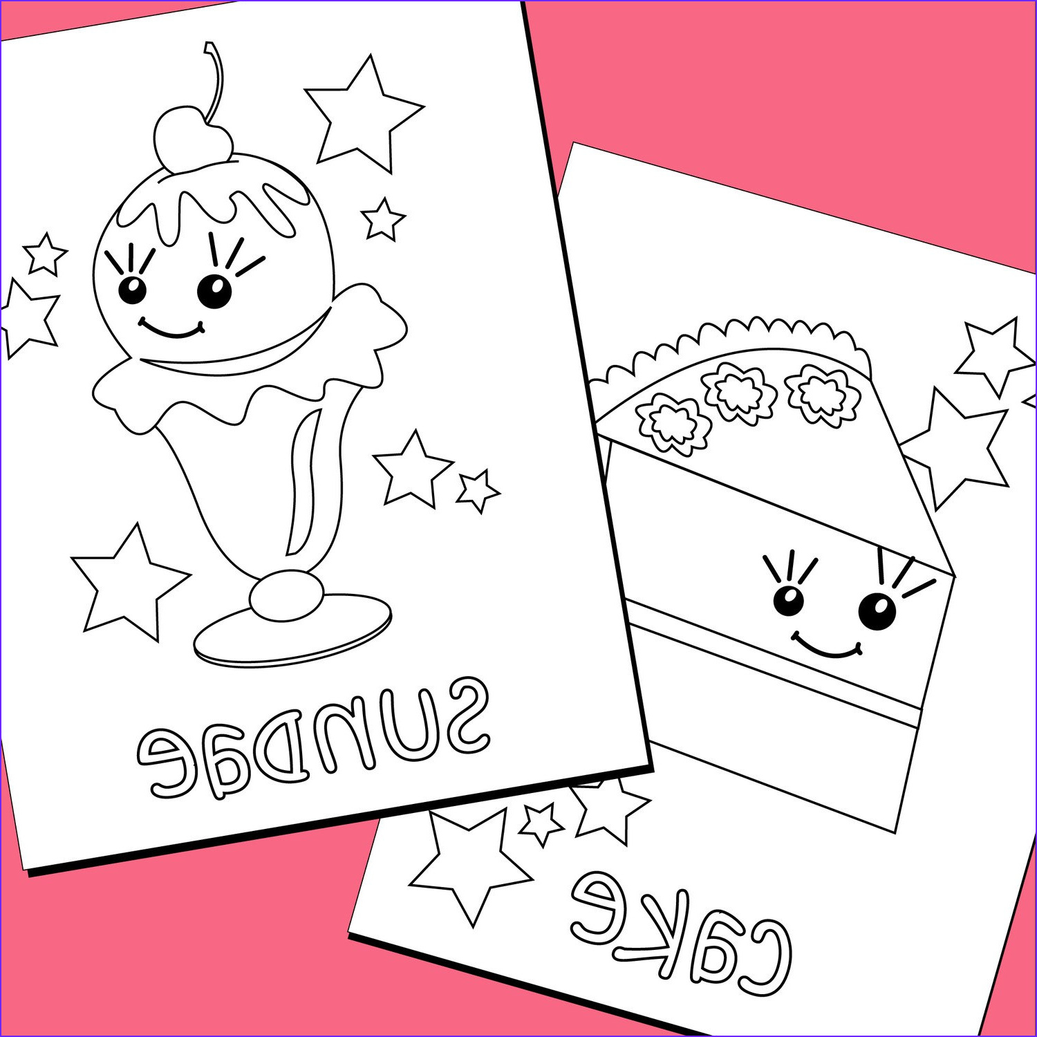 Sweets Coloring Pages Cool Gallery Colouring Pages Sweet Treats Printable Pdf Downloadable