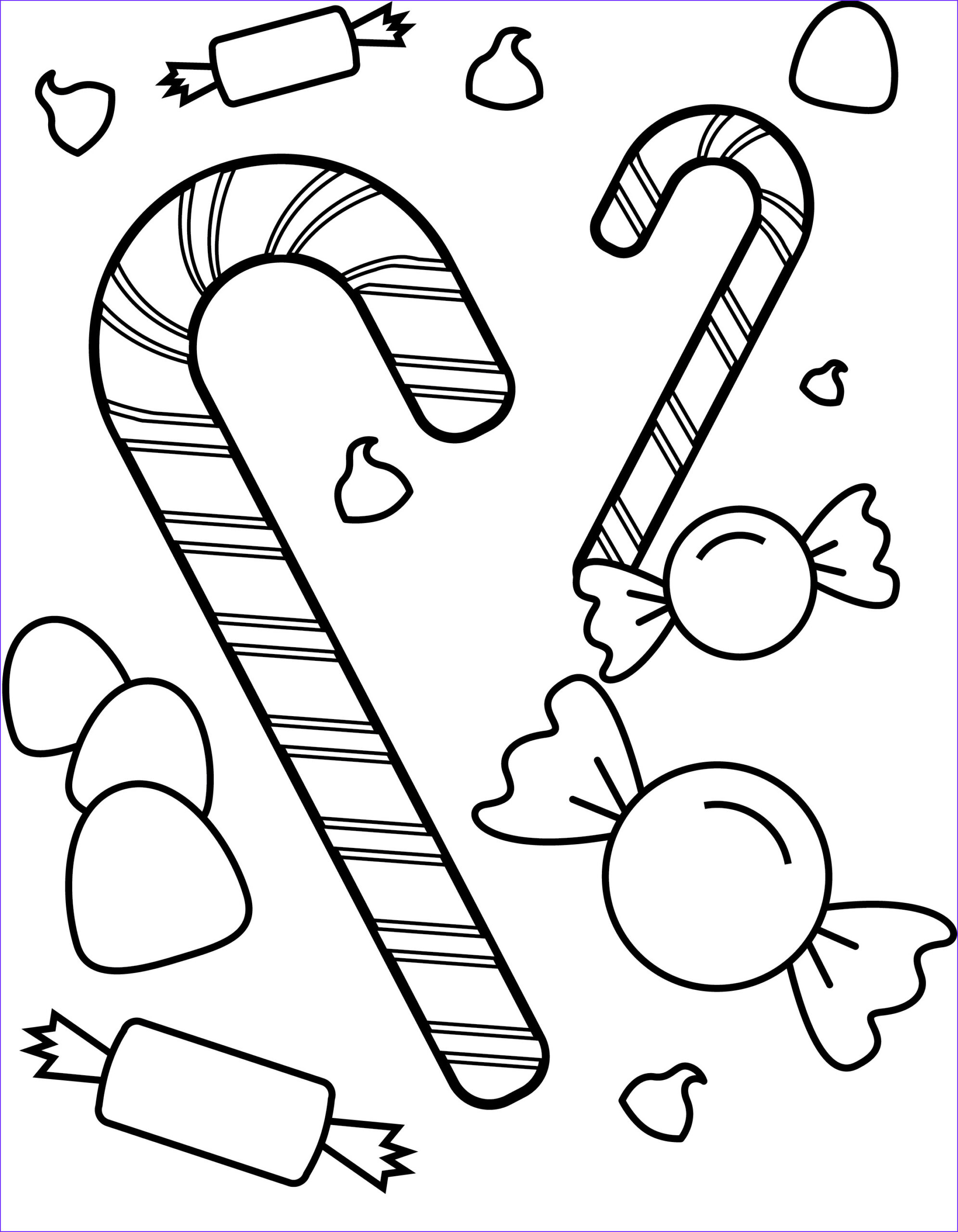 Sweets Coloring Pages Cool Photos Free Printable Candy Coloring Pages for Kids