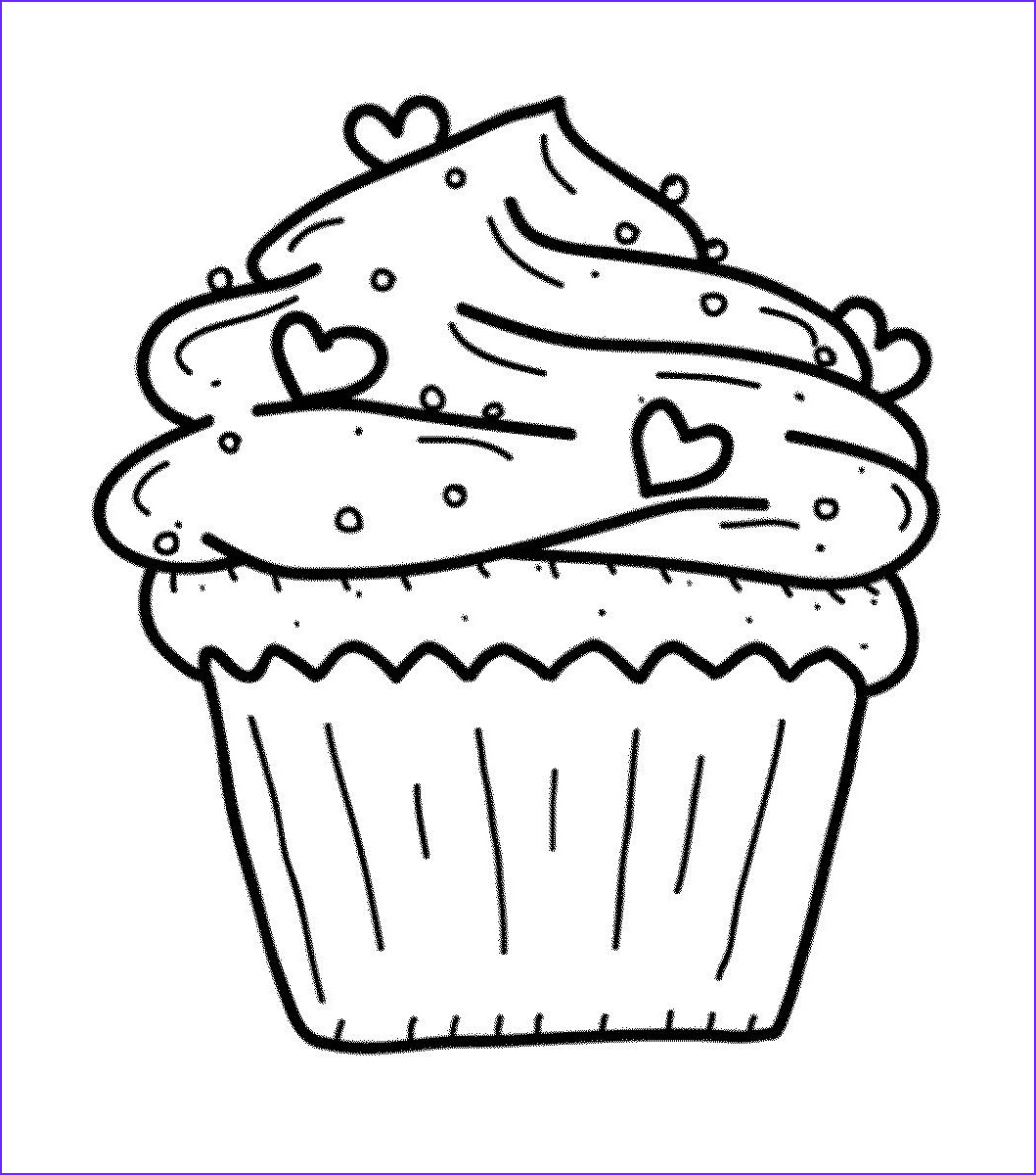 Sweets Coloring Pages Cool Photos Sweets Coloring Pages for Childrens Printable for Free