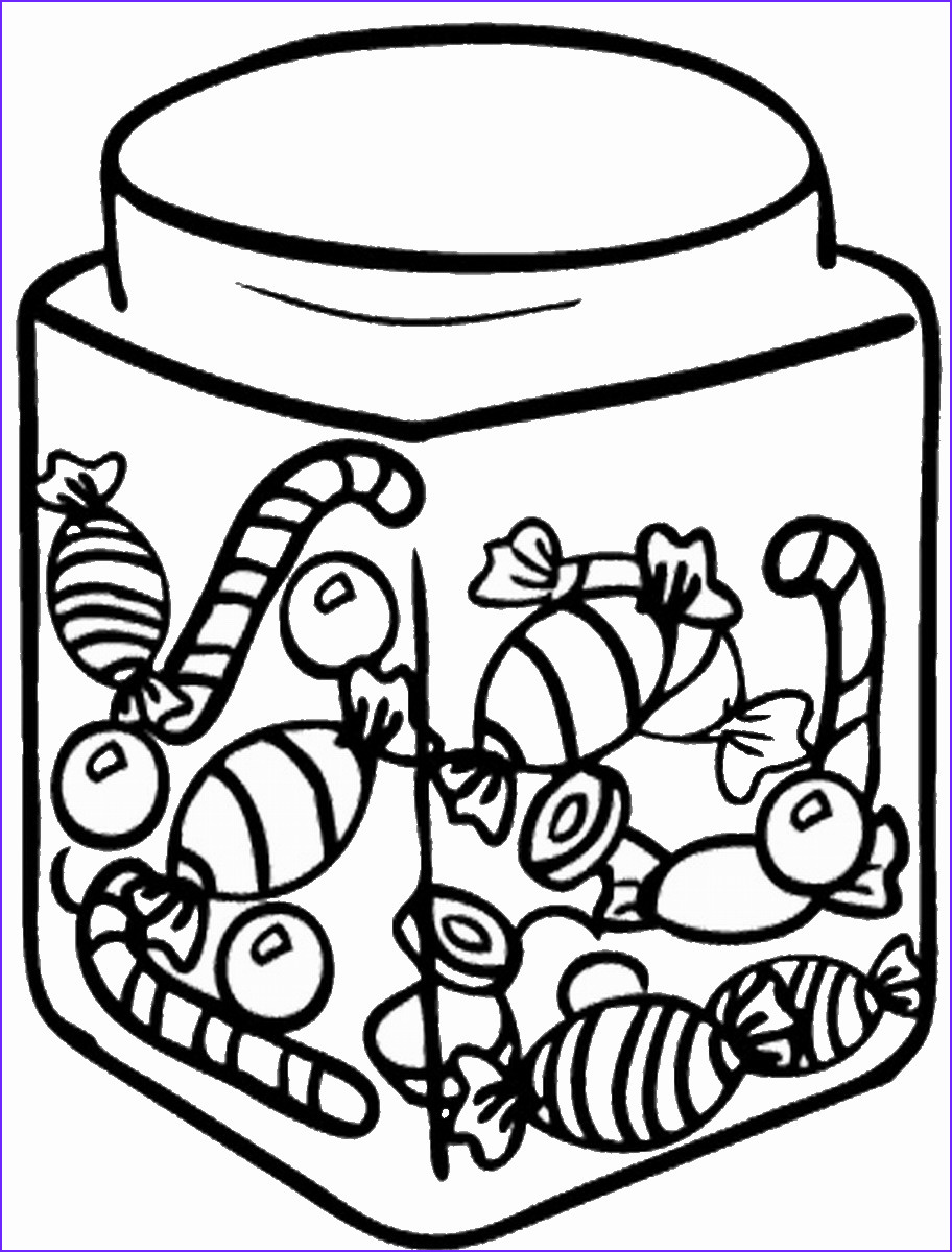 Sweets Coloring Pages Elegant Photos Sweets and Candy Coloring Pages