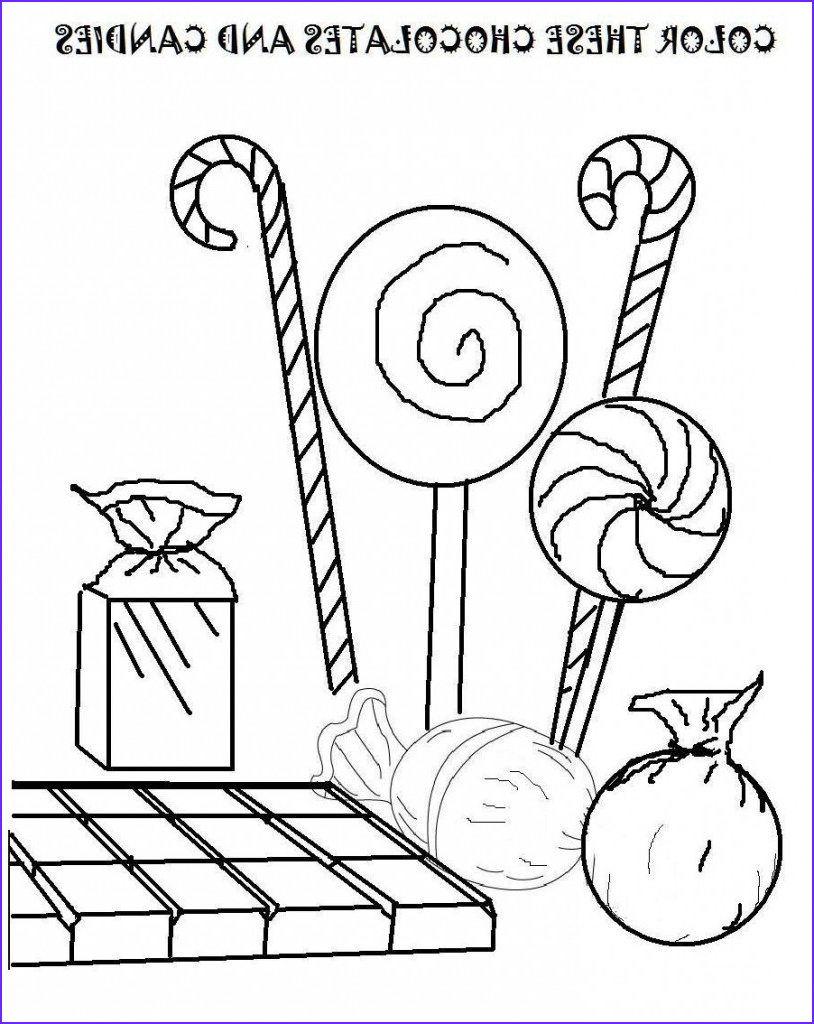 Sweets Coloring Pages Luxury Images Free Printable Candy Coloring Pages for Kids