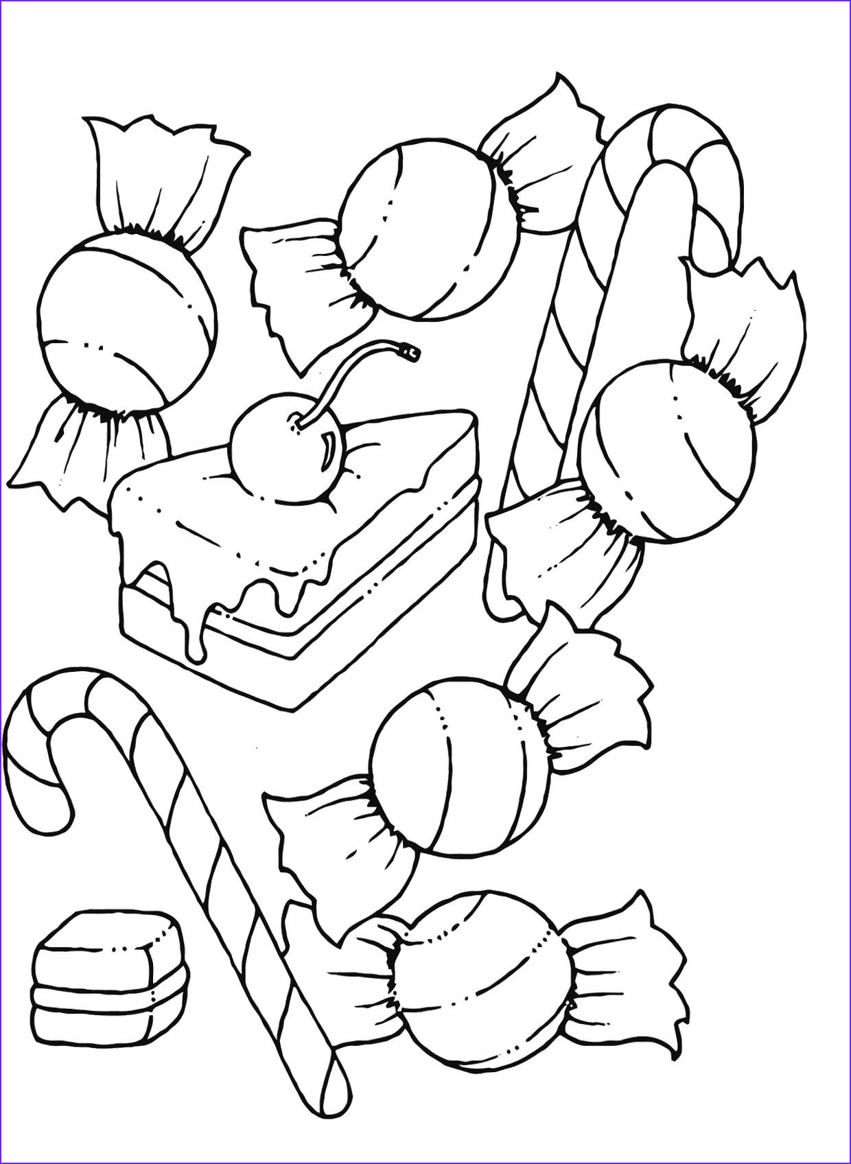 Sweets Coloring Pages Luxury Photography A Collection Delicious Candy Coloring Pages