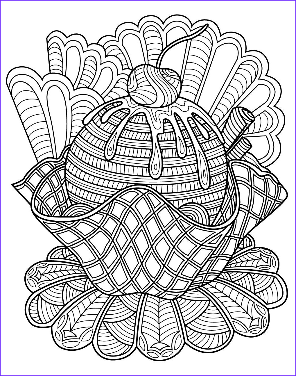 Sweets Coloring Pages Luxury Photography Sweets Coloring Page