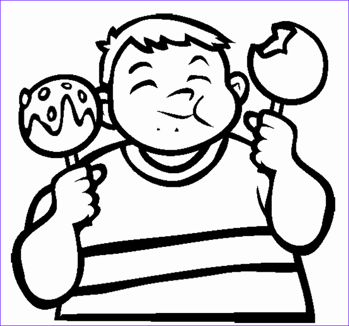Sweets Coloring Pages New Photos Sweets and Candy Coloring Pages