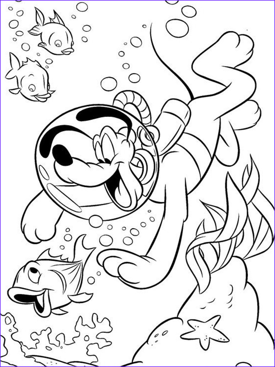 Swim Coloring Pages Cool Stock Pluto Coloring Pages Bestofcoloring